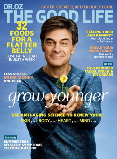 Subscribe to Dr Oz The Good Life