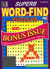Superb Word Find Bonus Magazine
