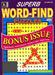 Superb Word Find Bonus Magazine