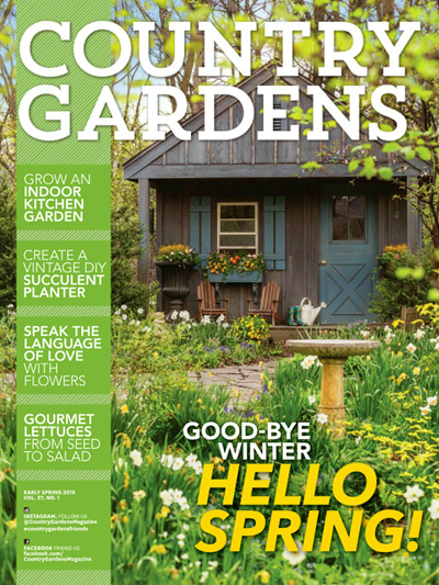 Top 10 Garden Magazines Better Homes Gardens Country