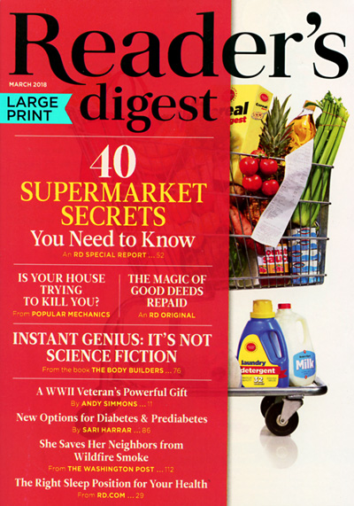 Subscribe to Reader's Digest - Large Print Edition