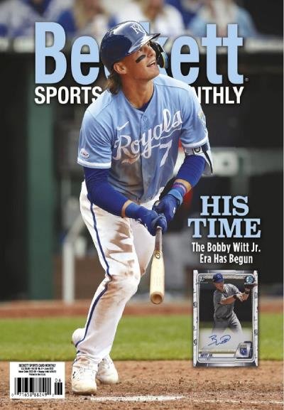 Subscribe to Beckett Sports Card Monthly