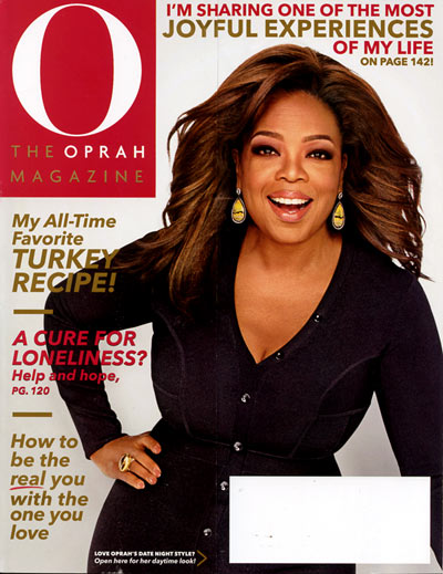 Subscribe to O, The Oprah Magazine