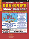 Gun - Knife Show Calendar Magazine