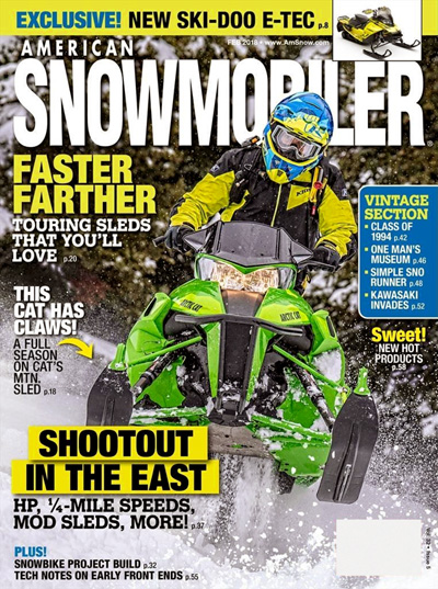 Subscribe to American Snowmobiler