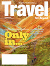 1 Year, 4 issues - Travel 50 & Beyond Magazine is the only travel magazine that is written and designed specifically for people who are 50 and older. Now celebrating their 13th year in publication, Travel 50 & Beyond serves a more thoughtful traveler who demands quality, value and an enriching travel experience.