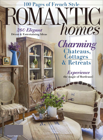 subscribe to romantic homes - Popular Interior Design Magazines