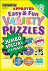 Easy Fun Variety Puzzles Magazine Subscription