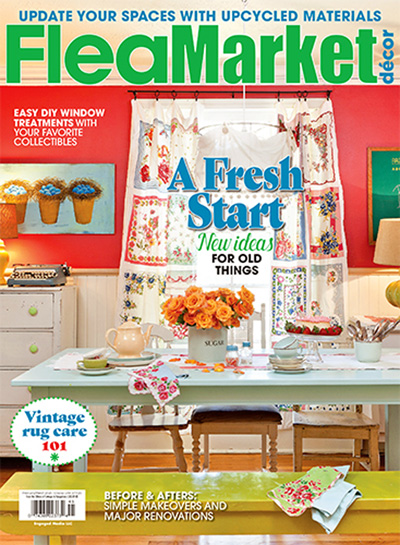 subscribe to flea market decor - Home Decor Magazines