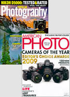 American Photo + Popular Photography Magazines
