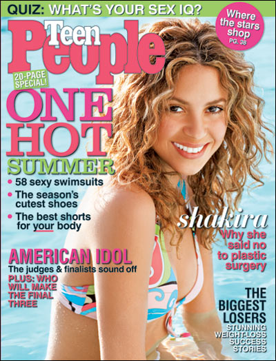 Teen People Magazine 10 Issues Cover Price: $34.90. Your Price: $12.45