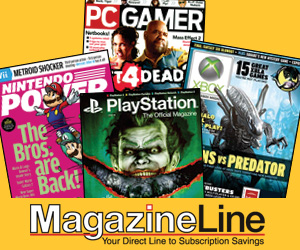 video game magazines @ MagazineLine.com