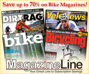 Save up to 70% on Biking Magazines
