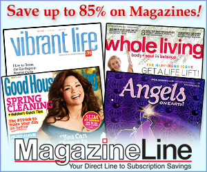 Save up to 85% at MagazineLine.com