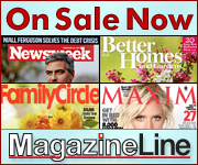 Over 100 magazines are on sale at Magazineline for a Limited Time!