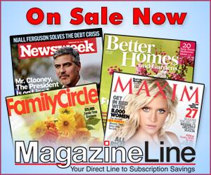 Hundreds of Magazines On Sale at MagazineLine.com!