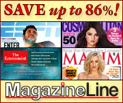 Magazine Line - Save up to 86% on Magazines