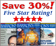 Save 30% on Barrons