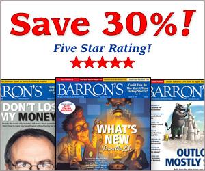 Save 30% on Barrons