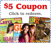 Coupon: Save $5.00 off Kids' Magazines