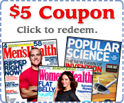 Get $5.00 off our regular price with this coupon