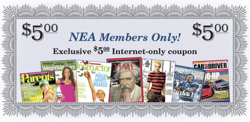 NEA Members Only - Save $5.00