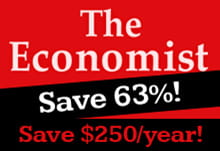 The Economist Subscription - Save 63%