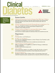 Clinical Diabetes