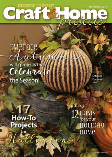 Crafts home projects magazine
