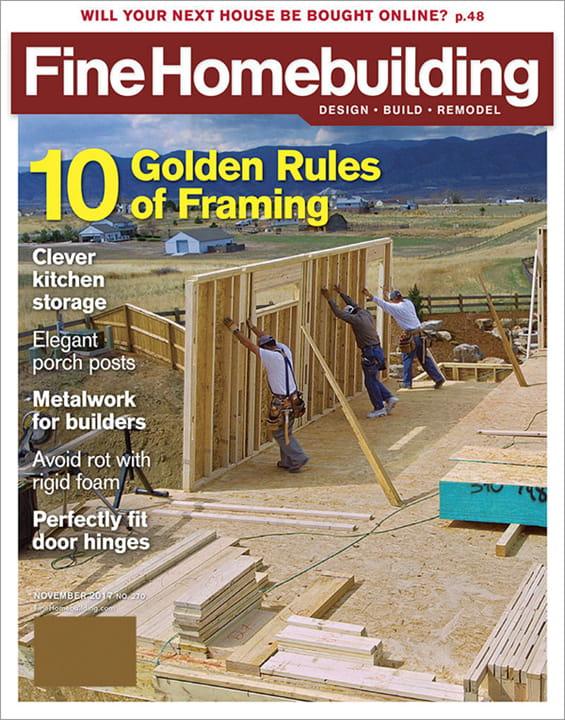 Fine Homebuilding Magazine Fine Homebuilding Magazine
