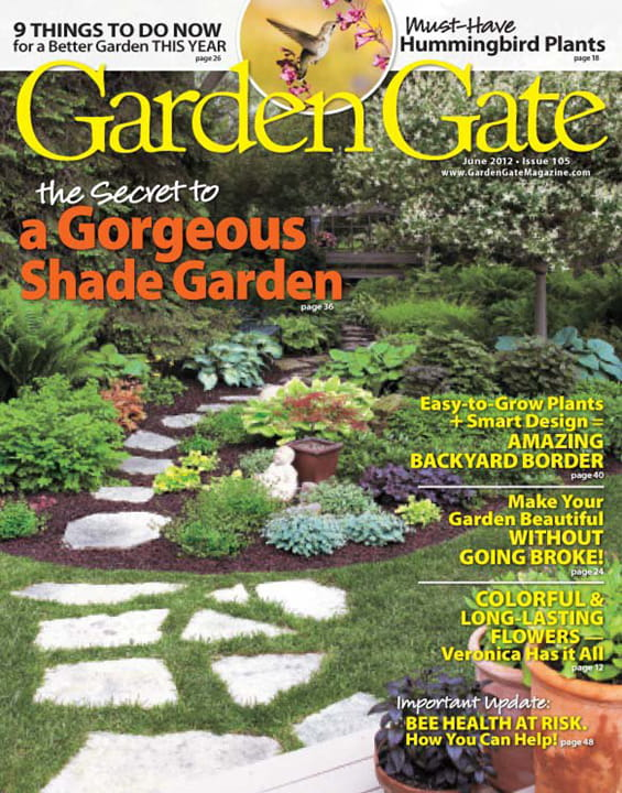 Woodworking plans can crusher garden gate magazine plans for Garden design subscription