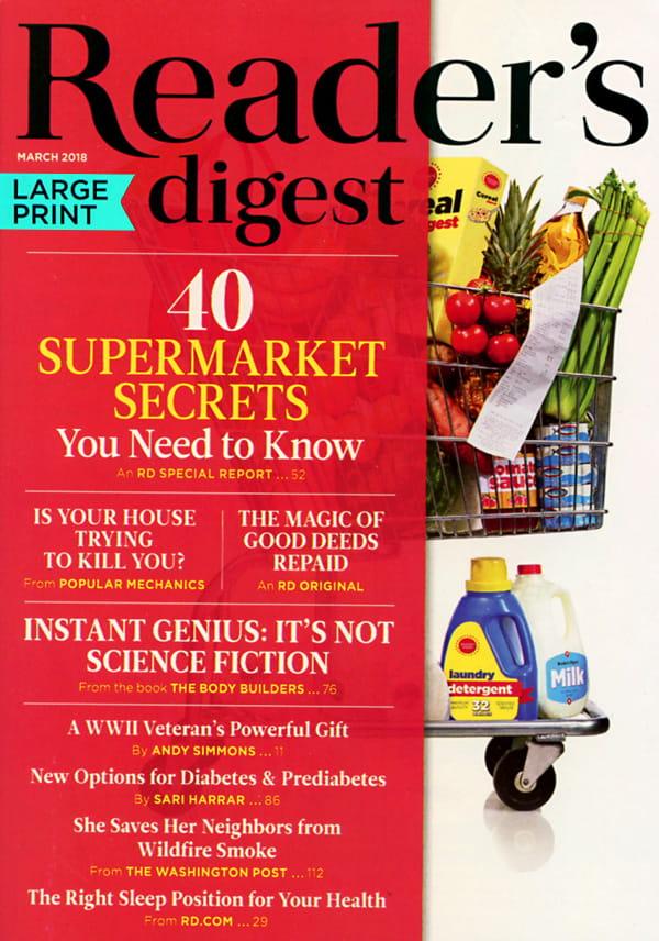 Reader U0026 39 S Digest Large Print