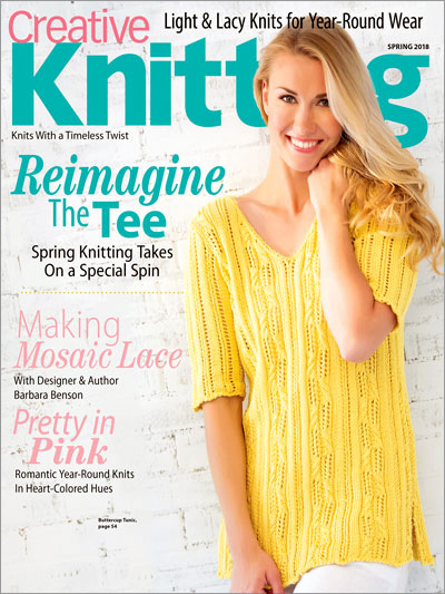Subscribe to Creative Knitting