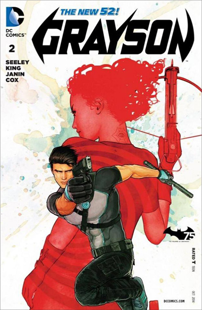 Subscribe to Nightwing Comic