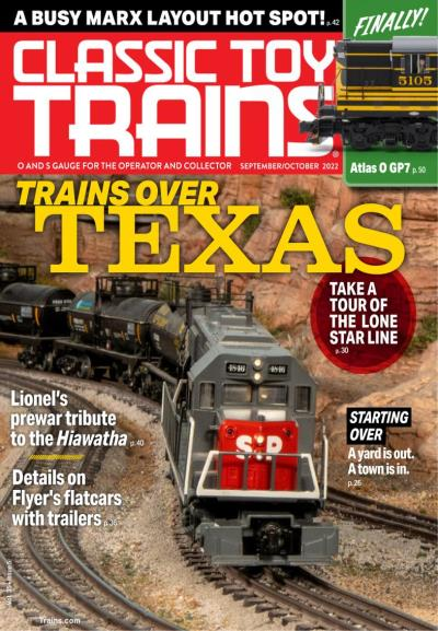 Subscribe to Classic Toy Trains