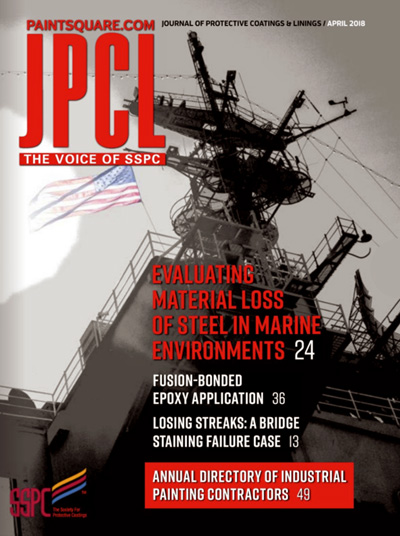 Subscribe to Jrn of Protective Coatings & Linings