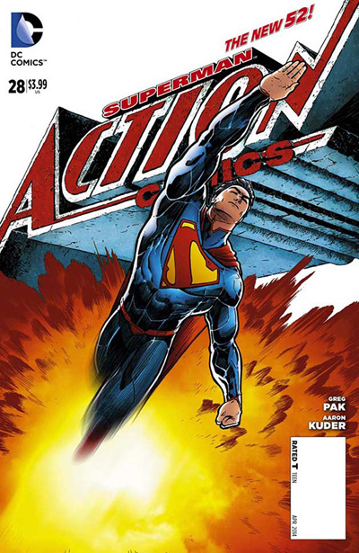 Subscribe to Action Comics