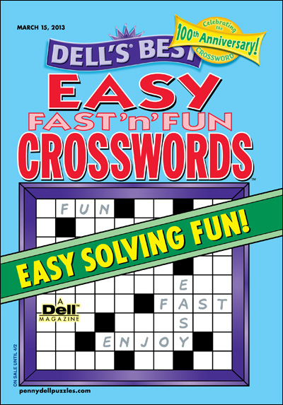 Subscribe to Dell Easy Fast 'n' Fun Crosswords