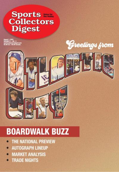 Subscribe to Sports Collectors Digest