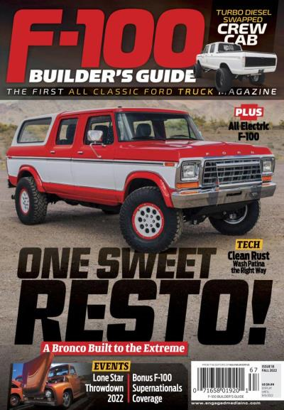 Subscribe to F-100 Builder's Guide