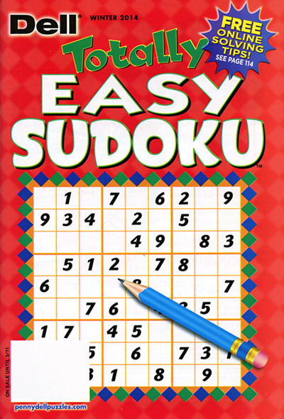 Subscribe to Totally Easy Sudoku