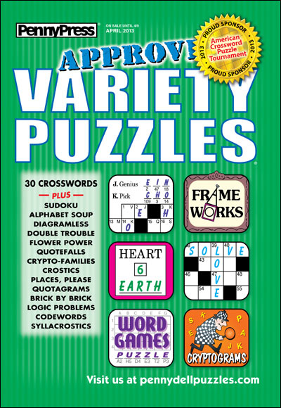 Subscribe to Approved Variety Puzzles