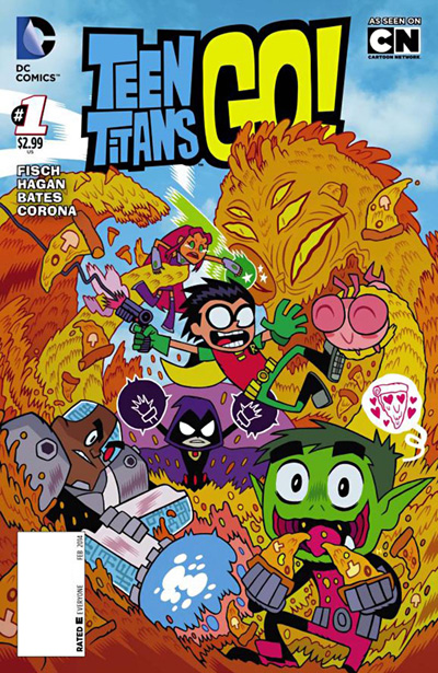 Subscribe to Teen Titans Go!