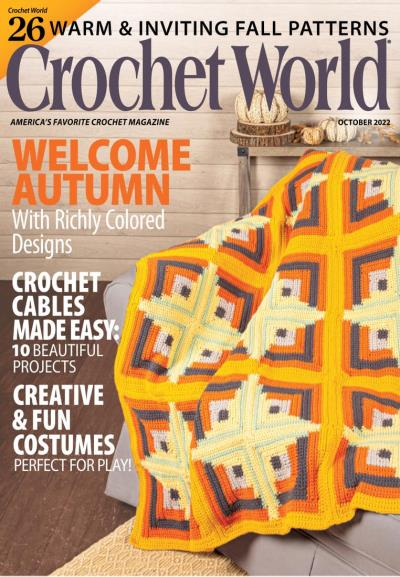 Best Crochet Magazines Vogue Knitting International Crochet World