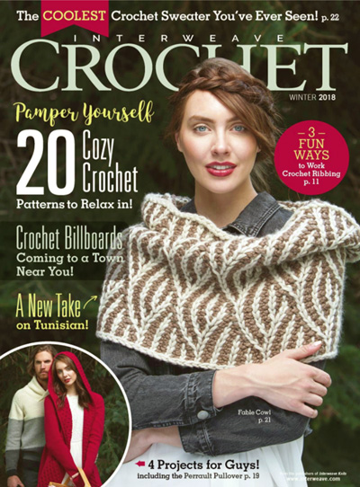 Subscribe to Interweave Crochet