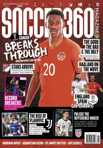 Subscribe to Soccer 360 Magazine