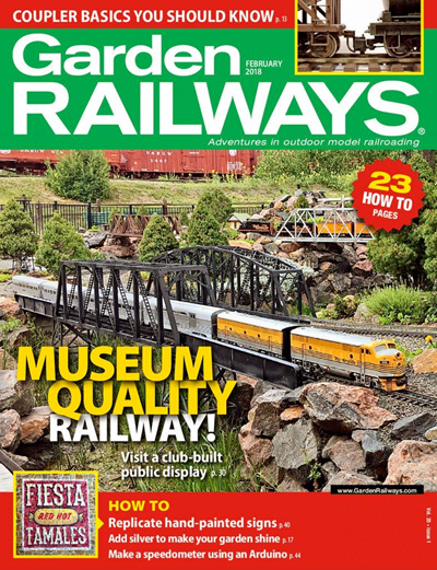 Subscribe to Garden Railways