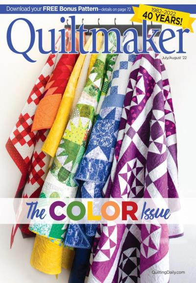 Subscribe to Quilt Maker