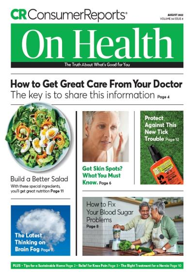 Subscribe to Consumer Reports on Health