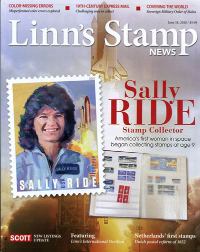 Subscribe to Linn's Stamp News Monthly